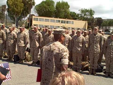 My Marine's Homecoming From Iraq
