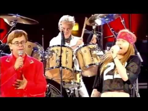Axl Rose - Bohemian Rhapsody ( Elton John and Queen )