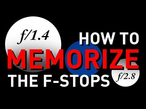 How to Memorize the F-Stop Scale With Simple Math