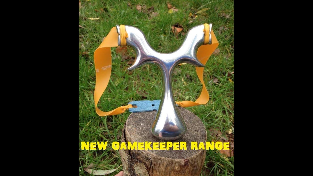 Colorado Shooting R H Youtube Com: *NEW* METAL GAMEKEEPER CATAPULT RANGE, SLINGSHOT, SHOOTING