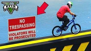 GTA V Online: SKILL TEST 100% PERIGOSO de BMX!!! MITEI