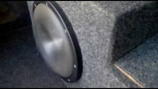 Eclipse SW9102 Titanium Subwoofer Bass Test