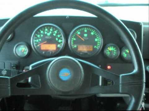 Bluebird Vision Dash and Gauges