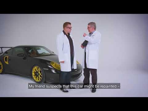 Analysing car paint - Specim Everyday Experiments