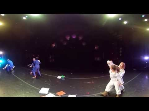 """360° View of """"SEL FOU!"""" by Bebe Miller, Performed by OSU Dance in """"Dance Downtown"""""""