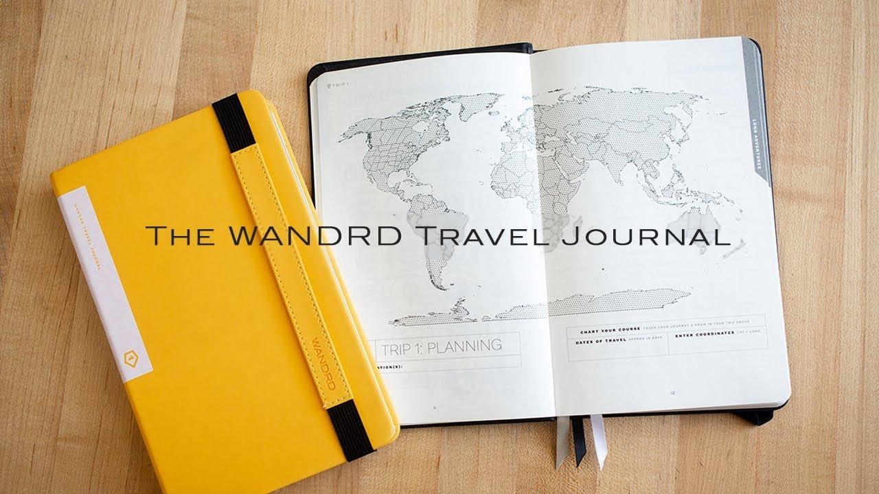 wandrd travel journal teaser youtube