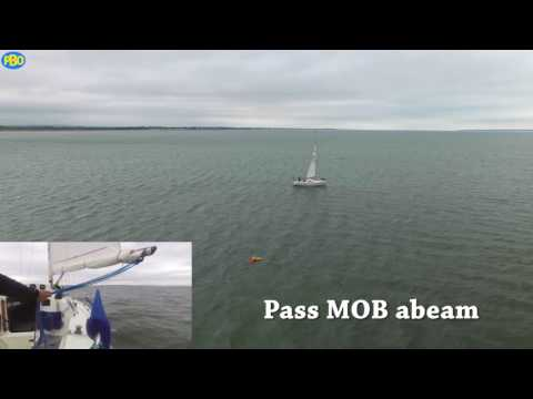 Man Overboard under sail - the Quick Stop method