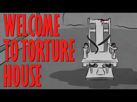 WELCOME TO THE TORTURE ROOM - Haunted House Story Time // Something Scary | Snarled