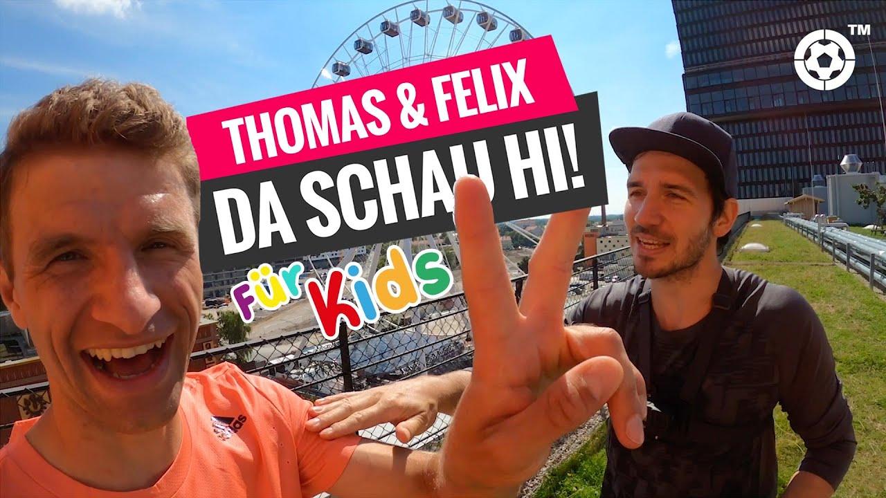 Fingergymnastik für Kinder mit Thomas Müller & Felix Neureuther