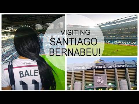 Travelling to Santiago Bernabeu to watch Real Madrid