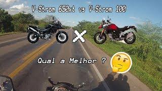 VSTROM 650XT vs VSTROM 1000, QUAL A MELHOR ?