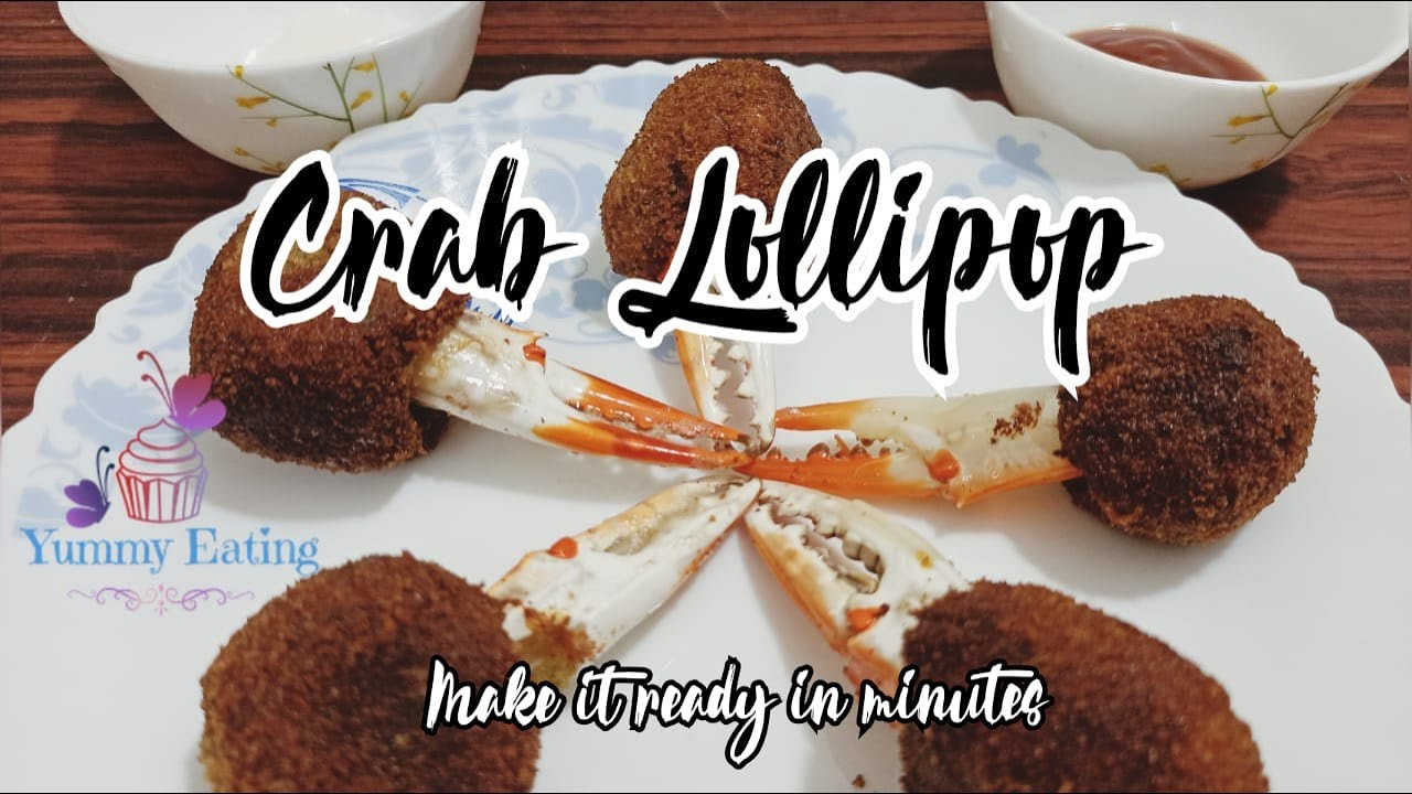 Crab lollipop Recipe