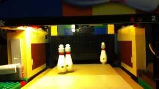 Lego bowling trickshots!