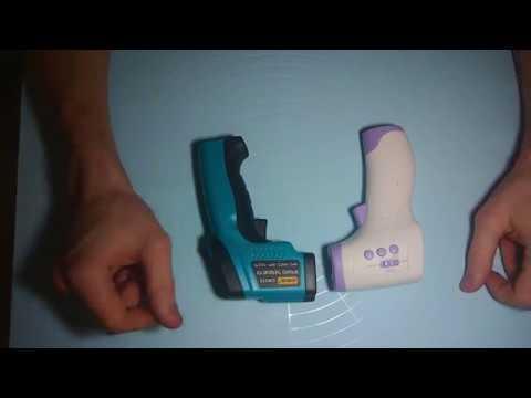 видео: Пирометр GM550 и DM300 сравнительный тест. Детский градусник