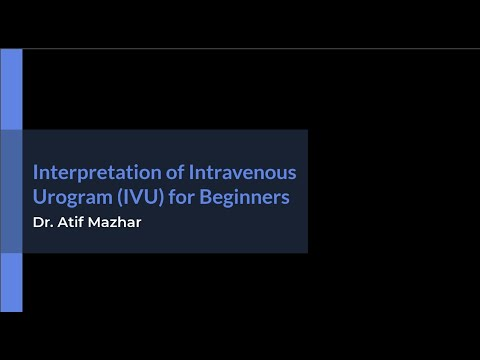 Download Interpretation of Intravenous Urogram (IVU) for Beginners