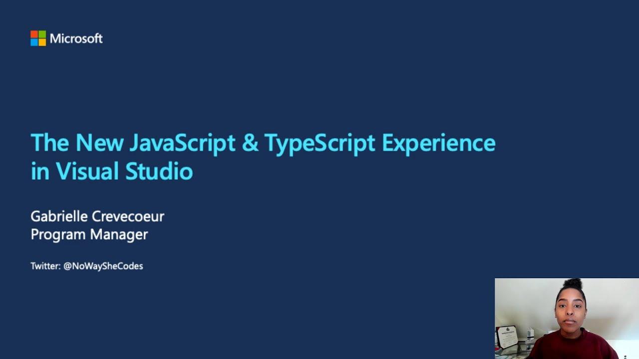 Enhancing the JavaScript Experience in Visual Studio   OD554