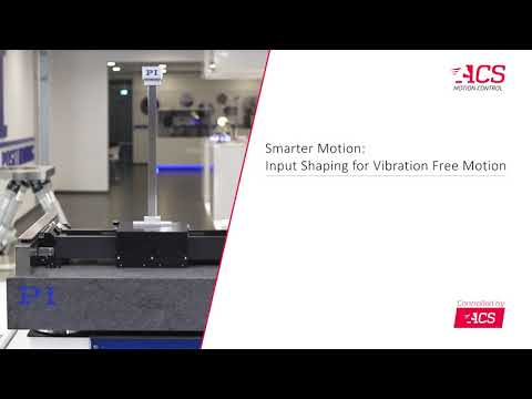 Input Shaping for Vibration Free Motion - YouTube