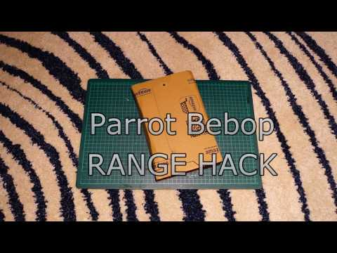 Parrot Bebop Range Hack - English Version - YouTube