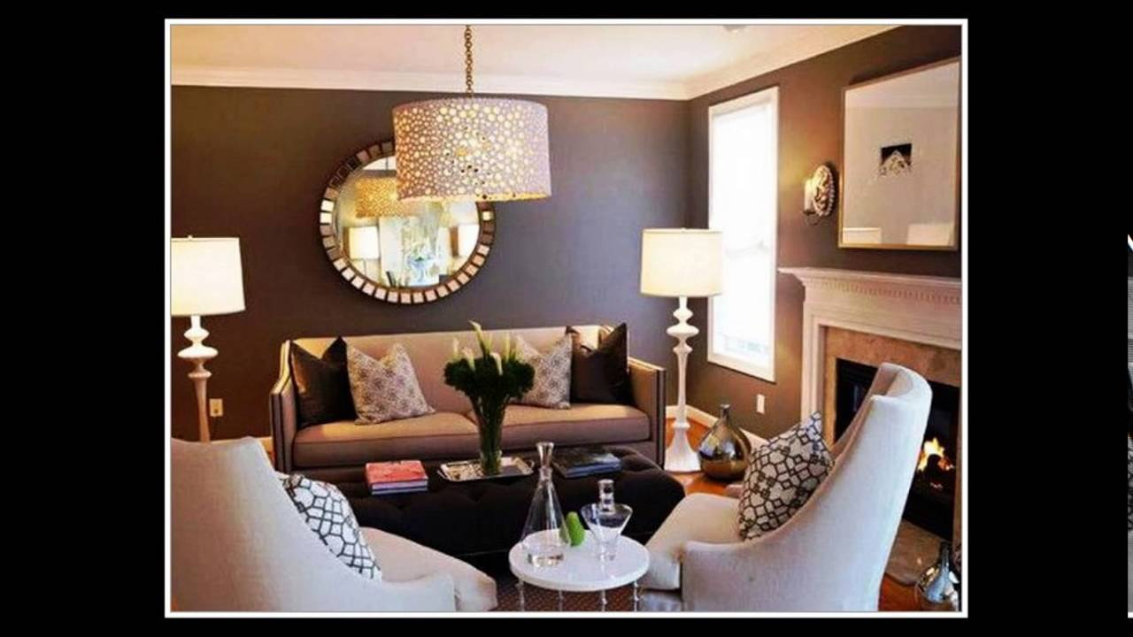 kleines wohnzimmer einrichten beispiele youtube. Black Bedroom Furniture Sets. Home Design Ideas