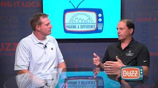 "Buzz TV - ""Making a Difference"" with Joe Camerlengo, The Truck Accident Law Firm"