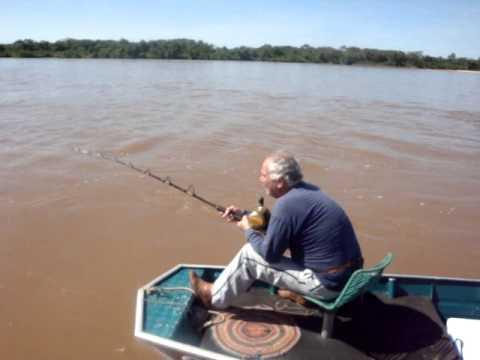 Pescaria no rio Araguaia em Luiz Alves GO Ademy Gusmão e Rodrigo de Freitas