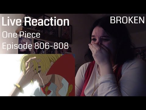 One Piece Episode 806-808 Live Reaction