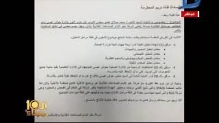 العاشرة مساء| شركة حلو الشام للصناعات الغذائية تبرئ ساحتها من الاتهام  بتوريد وجبات مدرسية فاسدة