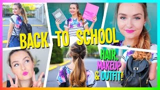 Look Cute After Working Out Quick Hair Makeup Outfit Vloggest