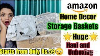 Amazon Haul 2019🌟Home Decor Items|Amazon Great Indian Sale|that Indian girl-ashana
