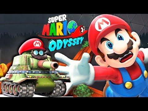 СУПЕР МАРИО ОДИССЕЙ #7 мультик игра для детей Super Mario Odyssey BOSS ROBOT Детский летсплей