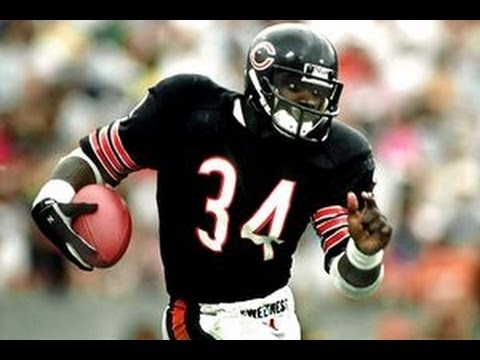Walter Payton Pregame Teaser and MNF Intro - Howard Cosell #PFHOF