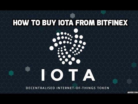 How To Buy IOTA (Bitfinex)