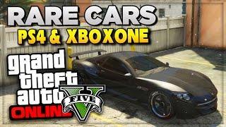 GTA 5 Next Gen PS4 Rare Cars & Secret DLC Vehicle Prices For GTA 5 Online (GTA V Gameplay)