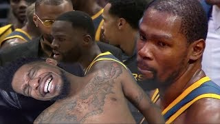 LMFAOO DURANT & DRAYMOND FIGHT!! OMG TODAY IS AWESOME! WARRIORS vs CLIPPERS HIGHLIGHTS