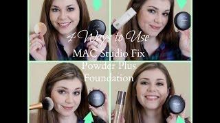 4 Ways to Use MAC Studio Fix Powder Plus Foundation
