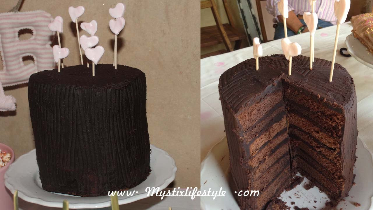 Pastel Doble Vista Double Sided Cake
