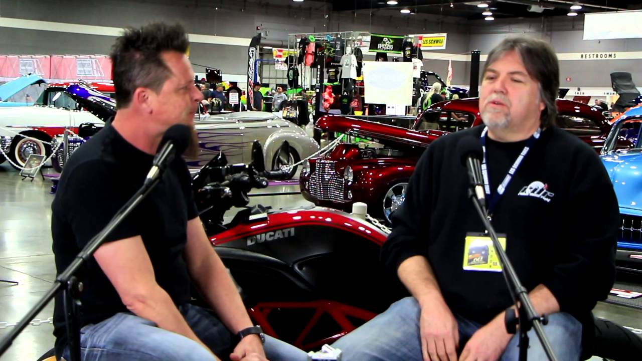 Rides Done Right with Dave Kindig of TV's Bitchin' Rides at the 2016  Portland Roadster Show