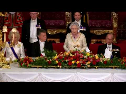 The Queen's speech at the Colombia State Visit