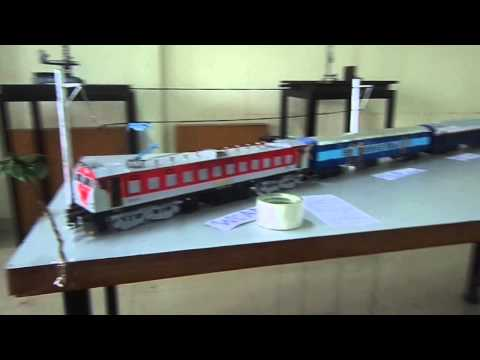 Railway models made by Aakash Kamble