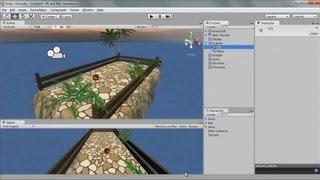 Unity 3D - Modélisation niveau dans moteur 3D - 5 Tutoriel Formation Facile