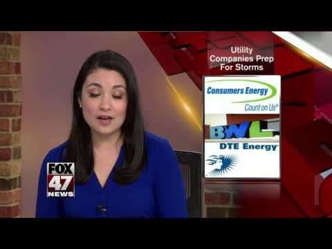 Consumers Energy crews prepare for severe weather