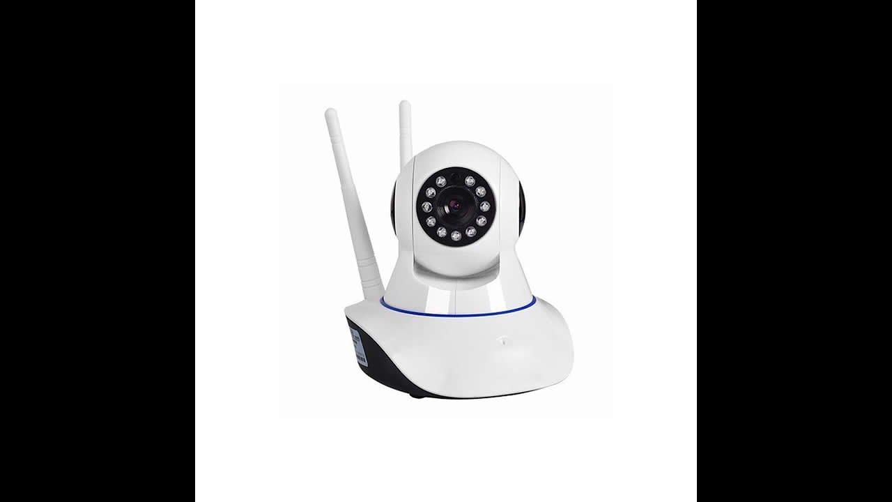 Câmera IP Wifi HD 2 Antenas P2P Acesse Remoto Celular