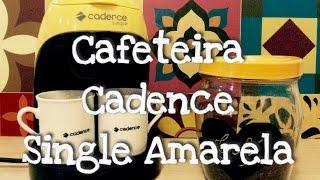 ☕️Resenha cafeteira cadence single coleção colors -  amarela - Por vaidade não tem idade