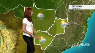 Previsão Centro-Oeste - Chuva continua