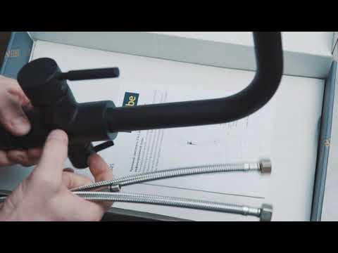 Как установить смеситель на кухне с фильтром для воды правильно