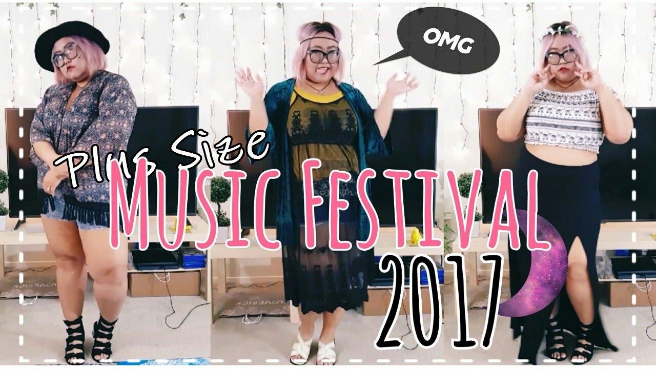 a923fd07ed Plus Size Music Festival Fashion 2017