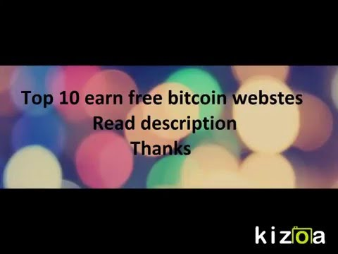 Top 10+ Free Earn Bitcoin Websites