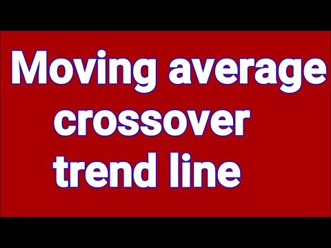Moving average crossover trend line  Basic online course part 1 17-08-18