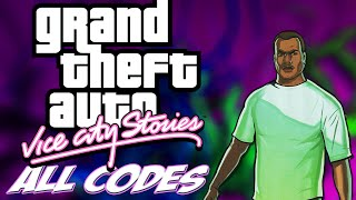 GTA Vice City Stories - ALL CHEATS + Demonstration [PS2/PSP]