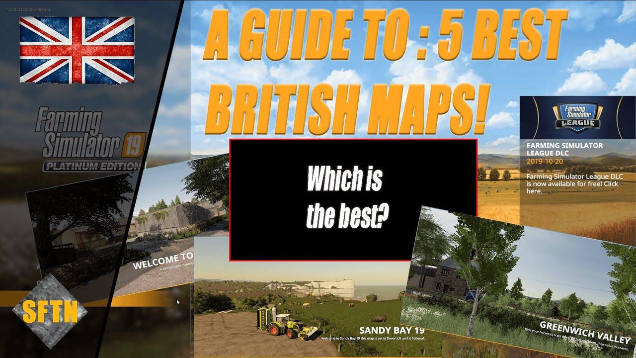 Fs19 English Maps